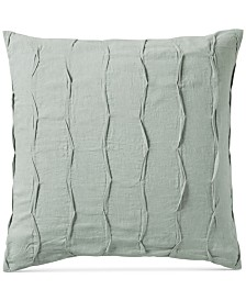CLOSEOUT! Hotel Collection Linen Brushstroke European Sham, Created for Macy's