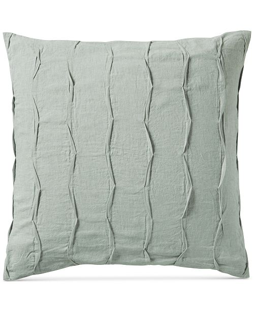 Hotel Collection CLOSEOUT! Linen Brushstroke European Sham, Created for Macy's
