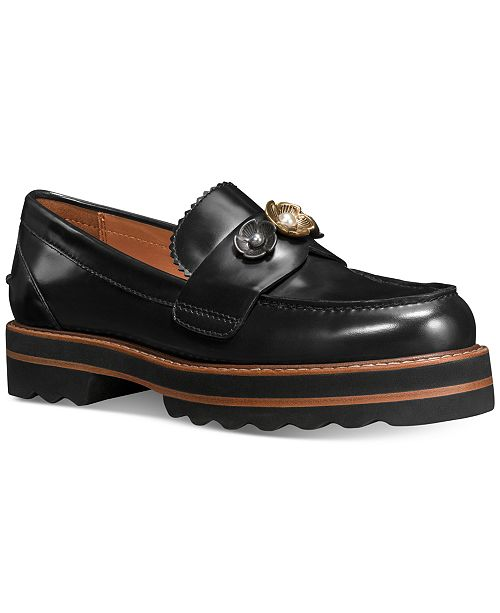 dacd3159a011 ... cheapest coach lenox loafers flats shoes macys e54cd efb80
