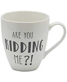 CLOSEOUT! Pfaltzgraff Are You Kidding Me?! Mug