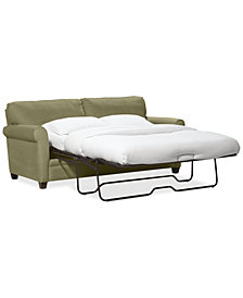 "Kaleigh 76"" Fabric Full Sleeper Sofa Bed - Custom Colors"