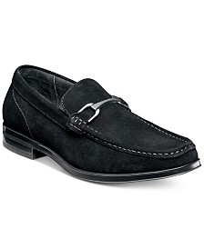 Stacy Adams Men's Newcomb Moc-Toe Slip-On with Bit
