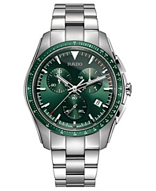 Men's Swiss Chronograph HyperChrome Stainless Steel Bracelet Watch 45mm