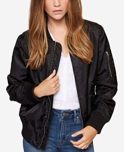 Sanctuary Bomber Jacket - Women - Macy's