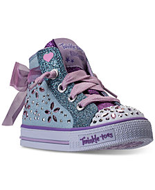 Skechers Toddler Girls' Twinkle Toes: Shuffles - Fancy Faves High Top Casual Sneakers from Finish Line