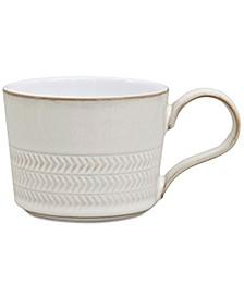 Natural Canvas Textured Teacup