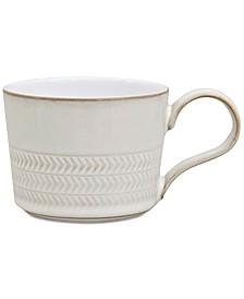 Denby Natural Canvas Textured Teacup