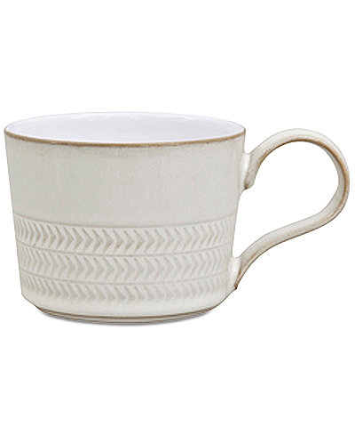 Denby Natural Canvas Textured Teacup