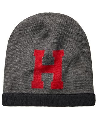 Tommy Hilfiger Men's Logo Beanie, Created for Macy's