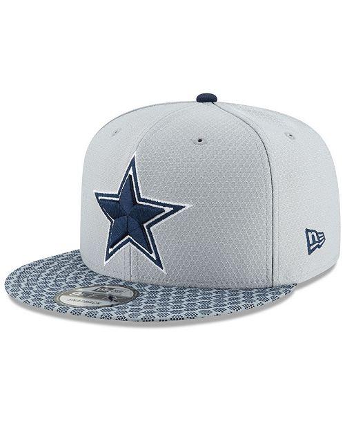 New Era Dallas Cowboys Sideline 9FIFTY Snapback Cap - Sports Fan ... 4eb01d8b2