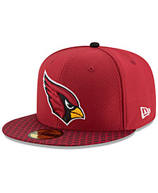 New Era Boys' Arizona Cardinals Sideline 59FIFTY Fitted Cap