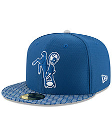 New Era Boys' Indianapolis Colts Sideline 59FIFTY Fitted Cap