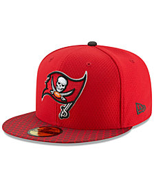 New Era Boys' Tampa Bay Buccaneers Sideline 59FIFTY Fitted Cap