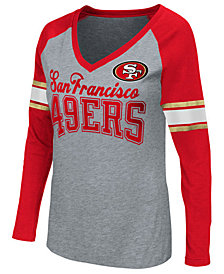 G-III Sports Women's San Francisco 49ers In the Zone Long Sleeve T-Shirt