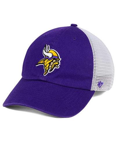 '47 Brand Minnesota Vikings Deep Ball Mesh CLOSER Cap
