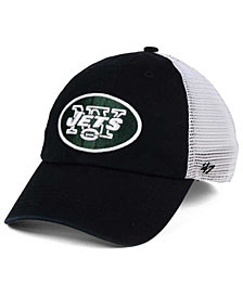 '47 Brand New York Jets Deep Ball Mesh CLOSER Cap