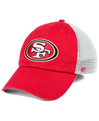 '47 Brand San Francisco 49ers Deep Ball Mesh CLOSER Cap