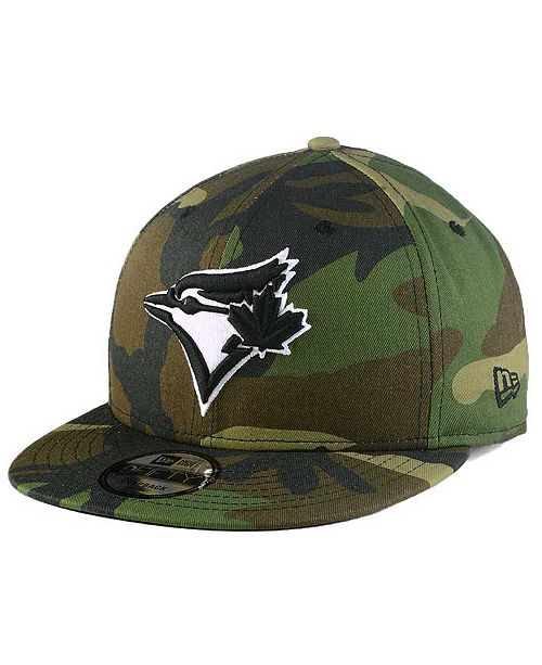 9e062cf3df5 New Era. Toronto Blue Jays Woodland Black White 9FIFTY Snapback Cap. Be the  first to Write a Review. main image ...