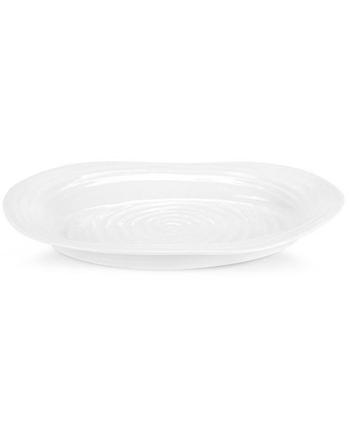 Portmeirion Dinnerware, Sophie Conran White Medium Platter