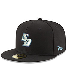 New Era San Diego Toreros Shadow 59FIFTY Fitted Cap