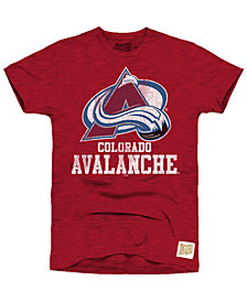 Retro Brand Men's Colorado Avalanche First Line Logo T-Shirt