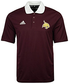 adidas Men's Texas State Bobcats 2017 Coaches Polo