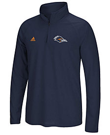 adidas Men's University of Texas San Antonio Roadrunners Ultimate Quarter-Zip Pullover