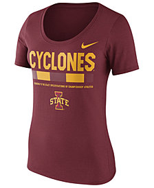 Nike Women's Iowa State Cyclones Sideline Scoop T-Shirt