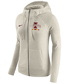 Nike Women's Iowa State Cyclones Gym Vintage Full-Zip Hoodie