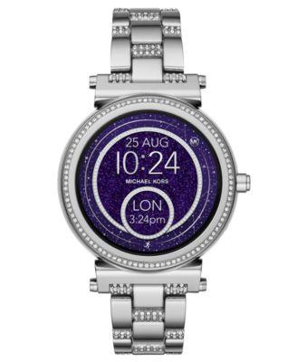 Access Women's Sofie Stainless Steel Bracelet Touchscreen Smart Watch 42mm