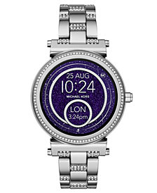 Michael Kors Access Women's Sofie Stainless Steel Bracelet Touchscreen Smart Watch 42mm