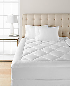Dream Science Ultra Comfort Queen Mattress Pad by Martha Stewart Collection, Created for Macy's