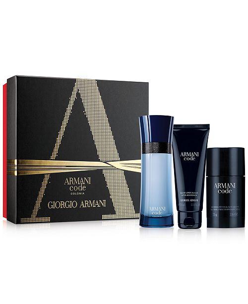 Giorgio Armani 3-Pc. Armani Code Colonia Gift Set
