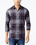 Michael Kors Men's Wess Check-Print Flannel