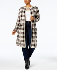 Sweater Coat Womens Plus Size Sweaters - Macy's