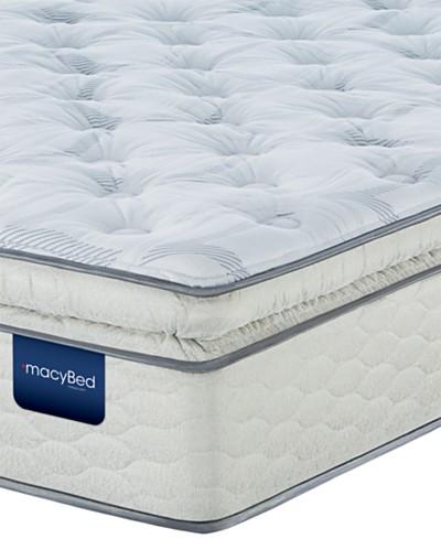MacyBed Lakemere Super Pillowtop Plush Mattress - King