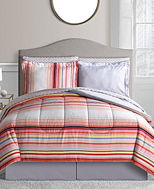 Garnet 8-Pc. Queen Reversible Bedding Ensemble