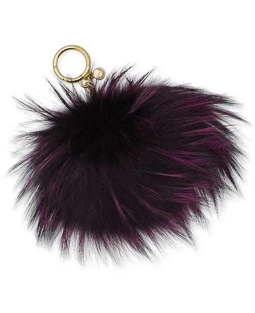 7577b3ec4f41 Michael Kors Large Fur Pom Pom Key Charm   Reviews - Handbags ...