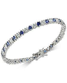 Giani Bernini Cubic Zirconia Tennis Bracelet in Sterling Silver, Created for Macy's