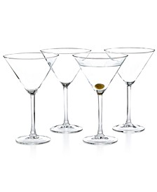Cachet 4-Pc. Martini Glass Set