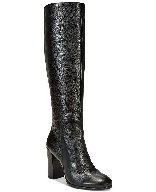6e430ab002ad3 Kenneth Cole New York Women s Justin Block-Heel Tall Boots   Reviews ...