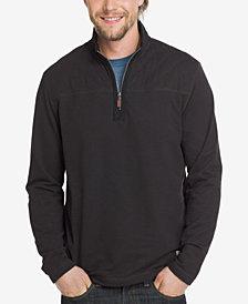 G.H. Bass & Co. Men's Quarter-Zip Fleece Sweatshirt