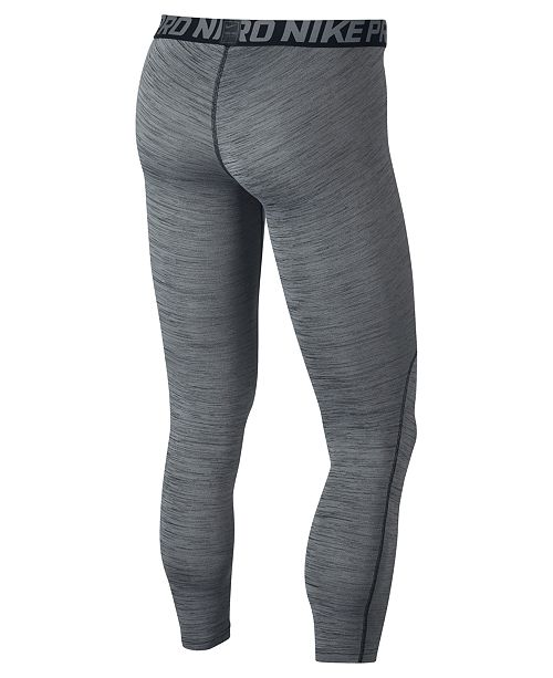 f08bc201cdc Nike Men s Pro Dri-FIT Heathered Leggings   Reviews - All Activewear ...