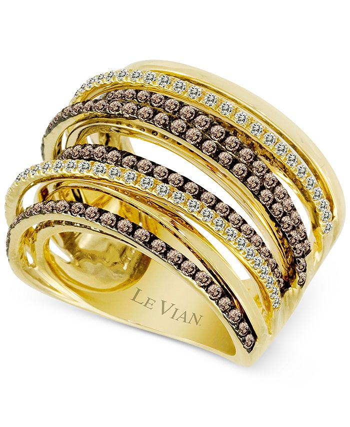 Le Vian - Diamond Weave Statement Ring (1-3/4 ct. t.w.) in 14k Gold