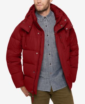 Marc New York Men's Quilted Jacket with Removable Hood and Collar 4864002