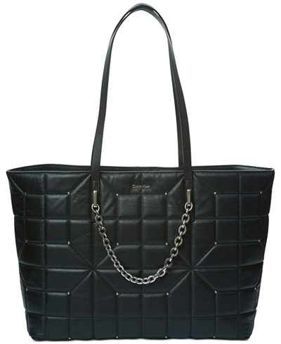 Calvin Klein Hera Quilted Extra-Large Tote