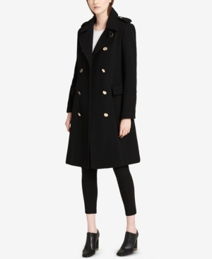 ab6c7c951c854 CALVIN KLEIN PLUS SIZE DOUBLE-BREASTED WALKER COAT