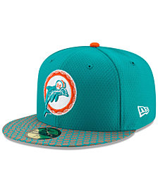 New Era Miami Dolphins Sideline 59FIFTY Cap