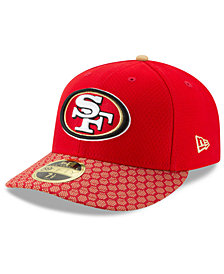 New Era San Francisco 49ers Sideline Low Profile 59FIFTY Fitted Cap