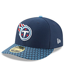 New Era Tennessee Titans Sideline Low Profile 59FIFTY Fitted Cap
